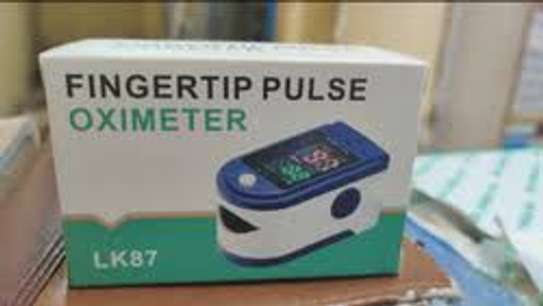 Fingertip Pulse Oximeter, Blood Oxygen Saturation Monitor image 1
