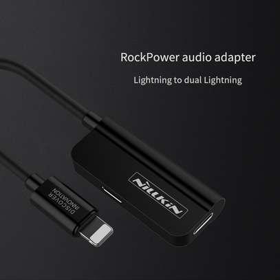 Nillkin 2 in 1 lightning to Lightning+3.5mm adapter[RocketPower audio Lightning to Dual Lightning] image 6