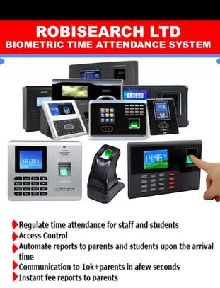 Staff Biometric Time Attendance Management System
