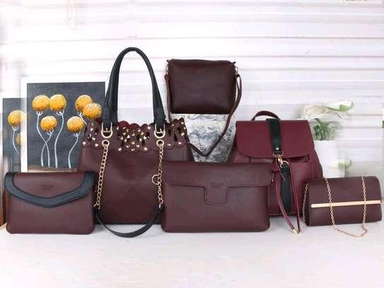 Cool ladkes handbags 6 in 1 image 1