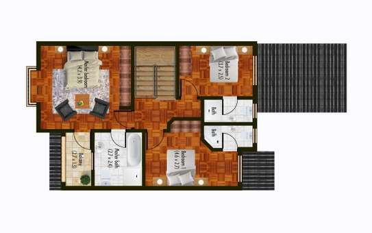 4 bedroom townhouse for sale in South C image 16
