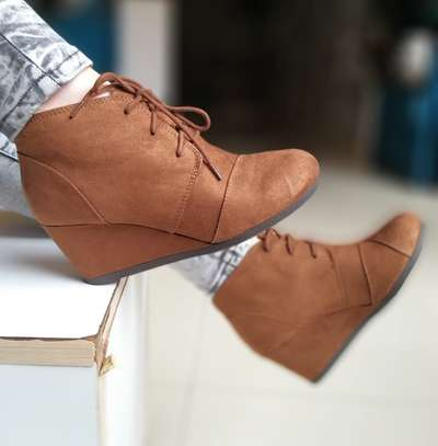 Wedge Boots image 3