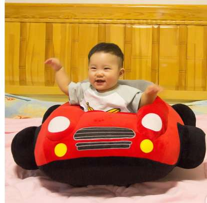 baby Car Sitting Children's Sofa,Plush Baby Sitting Learning Kid's Chair Floor seat Infant positioner Anti-Fall and Rollover Children's Furniture for Kids 3-18 Months image 11