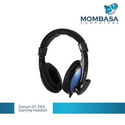 DT-2102 Ergonomic Stereo Gaming Headset image 1