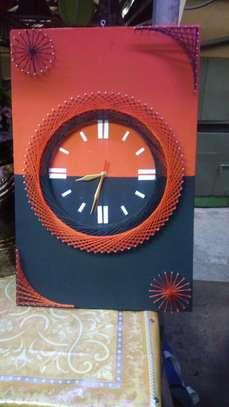 String Art wall clocks on offer!! image 7
