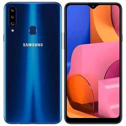 Samsung Galaxy A20s - 6.5 - 32GB + 3GB (Dual SIM), 4G LTE, Tripple camera - Blue image 1