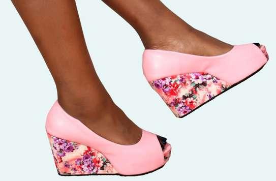 Ladies wedge shoes image 3