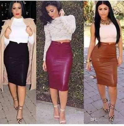 Leather skirts image 1
