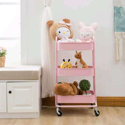 3tier movable trolley image 2