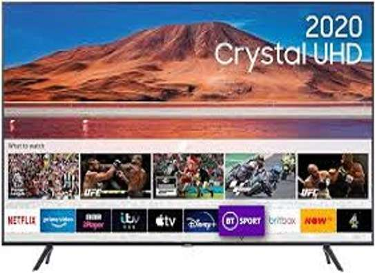 "SAMSUNG 65"" 4K UHD SMART TV,ALEXA VOICE CONTROL,WI-FI,NETFLIX,YOUTUBE,MIRACAST,BLUETOOTH-65TU8300-BLACK image 1"