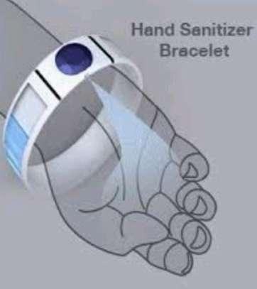 Sanitizer watch