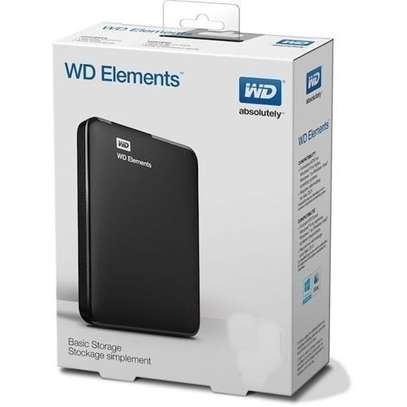 WD DIY 1TB External Hard Disk Drive with Cable - Black