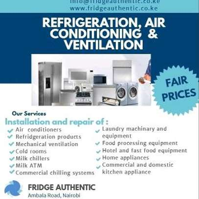 Fridge, freezer and residential appliances repair