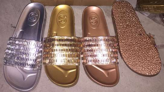 Ladies  Slides Sandals