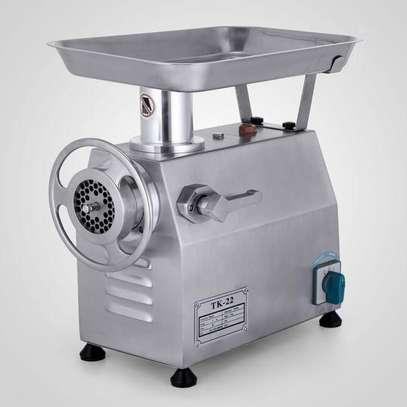 TK Automatic Meat Mincing Butcher Meat Grinder TK-22 250kg/h image 1