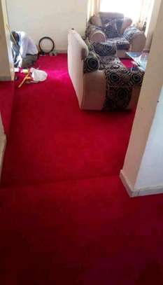 Standard wall to wall carpets