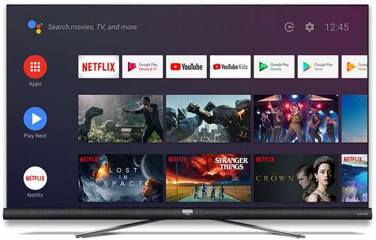 """TCL 55 """" smart android 4k uhd tv image 1"""