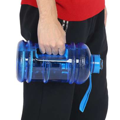 2.2L water bottle sports cup camping gym image 2