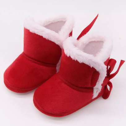 Warm fur lined Baby boots image 1