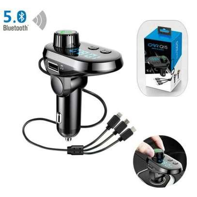 Q15 Bluetooth FM Modulator with FREE car Air freshener image 2