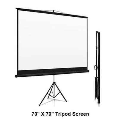 Tripod/portable 60' x 60' Projection Screen image 1