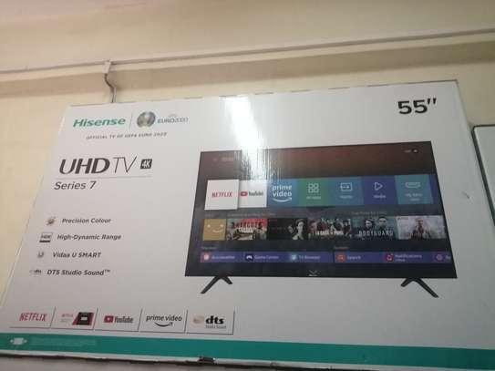 "Hisense 55"" inches smart uhd image 1"