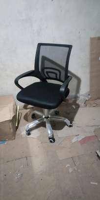 Mesh swivel chairs image 1