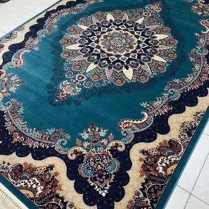 Persian  carpet blue print image 1