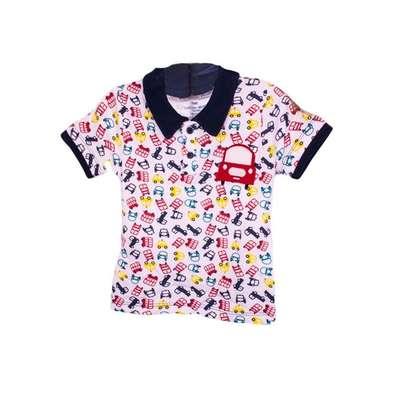 2 PC boys set (polo t-shirt and shorts) image 3