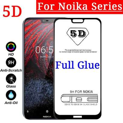 5D HD Clear Tempered Glass Front Screen Protector for Nokia 9 Pureview image 2