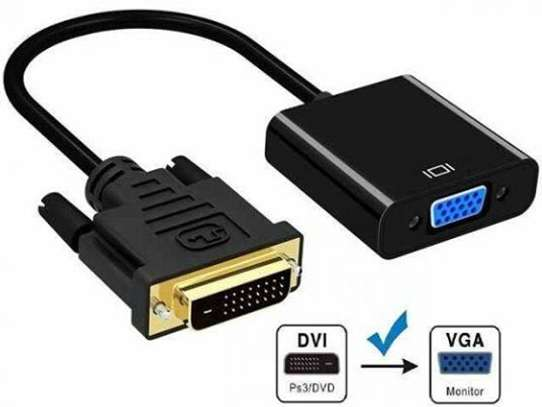 Active dvi-d to vga adapter, dvi-d 24+1 to vga male to female adapter