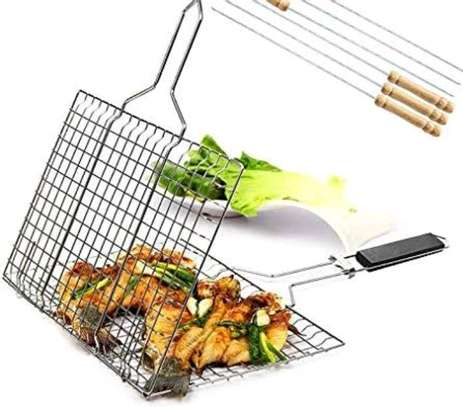 *BBQ Berbecue Stainless steel mesh image 3