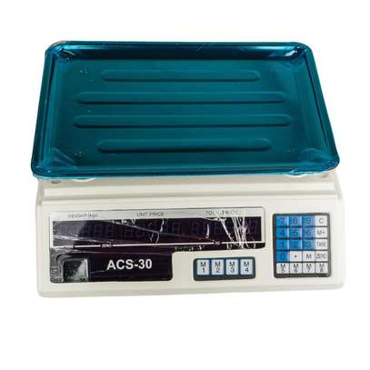 Brand New Digital 30Kg Weighing Scale image 1