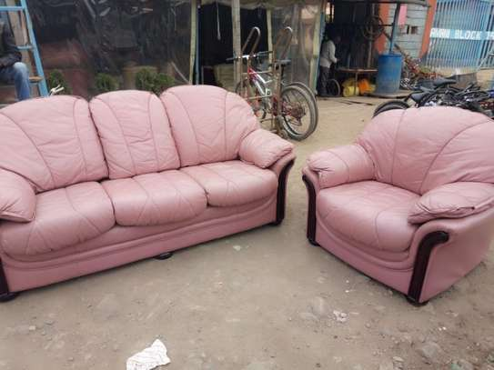 Leather Sofa (4 Seater)
