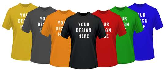 Bulk T-Shirt Printing and Embroidery