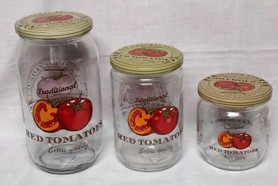 3pcs colourful spice container image 2