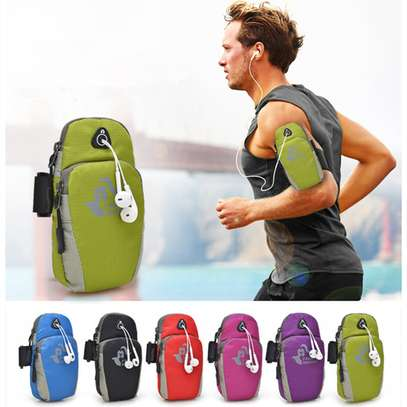 Running Sport Bag Fitness Gym Jogging Riding Cycling Phone Armband image 3