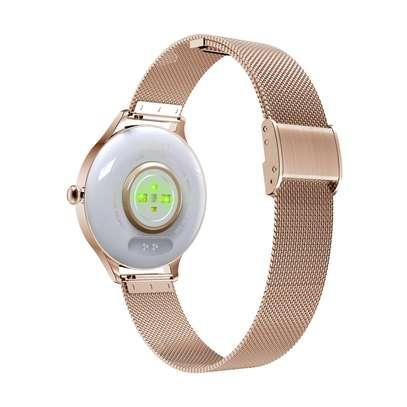 KMO5 Trendy Smart Watch for Women (Gold) image 2