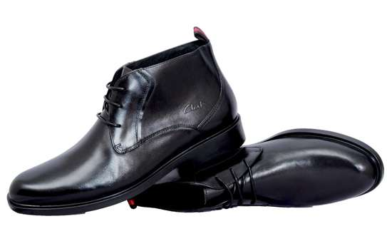 Black Official Men's Shoes