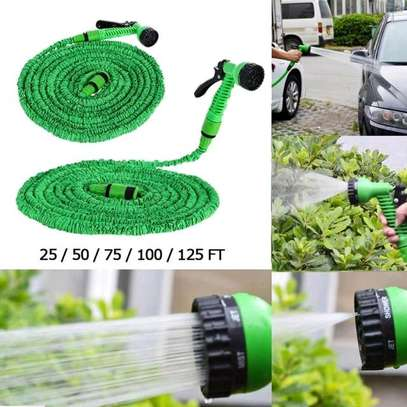 Magic Expandable hose pipe with spray nozzle image 1