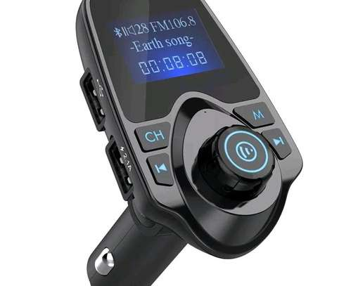 New Car aux tf card usb Bluetooth fm transmitter
