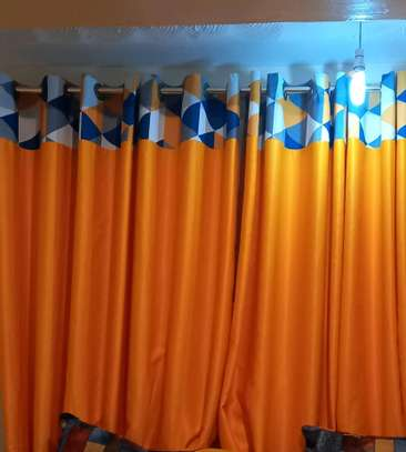 GOLD Curtains and sheers image 1