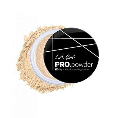L. A girl pro setting powder- Banana Yellow