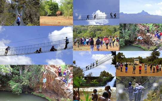 Ngare Ndare Forest Day Hike / Canopy Walk & Water falls Swimming; March 21st
