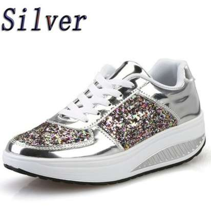 Ladies Sparkling Sneakers image 2