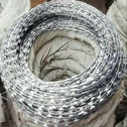 galvanized razor wire image 2