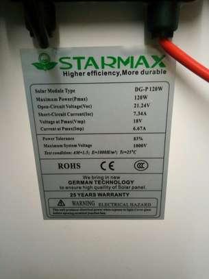 12V/150W STARMAX SOLAR PANEL image 4