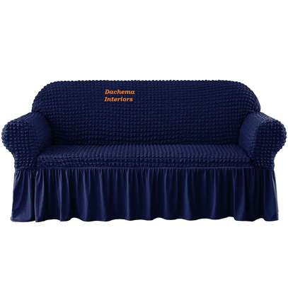 Quality Stretchable 7 seater sofa covers image 2