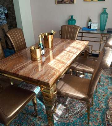 Pure Marble Dining Table image 1