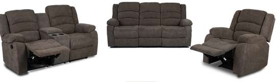 Recliner sofa 5 seater image 1